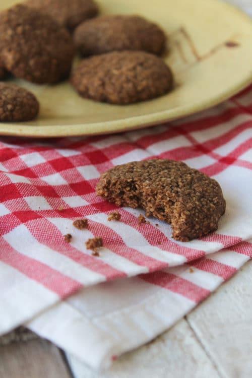 Cookies de coco e melado