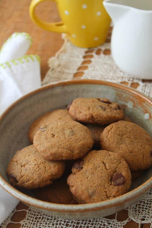 Cookies de manteiga de amendoim e farinha de quinua