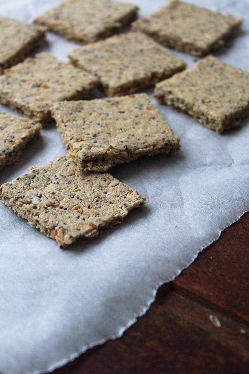 Cracker integral com sementes