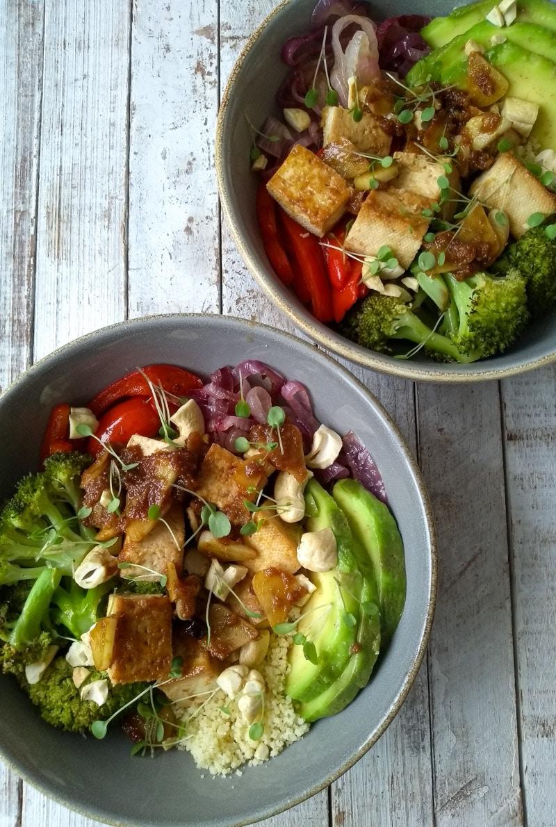 Como montar uma cumbuca vegana, colorida e simplesmente deliciosa!