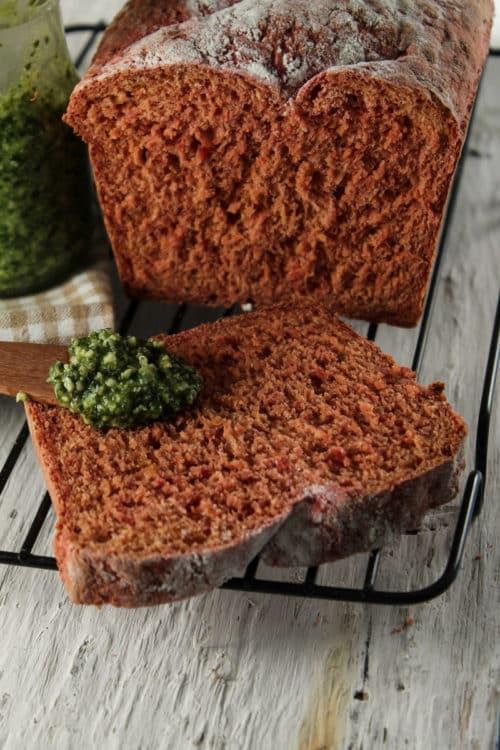 Pão de beterraba