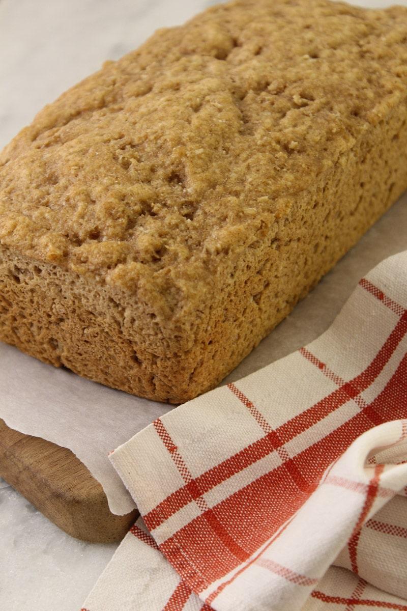 Pão de centeio e aveia