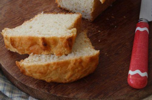 Pão de mandioca - vegano