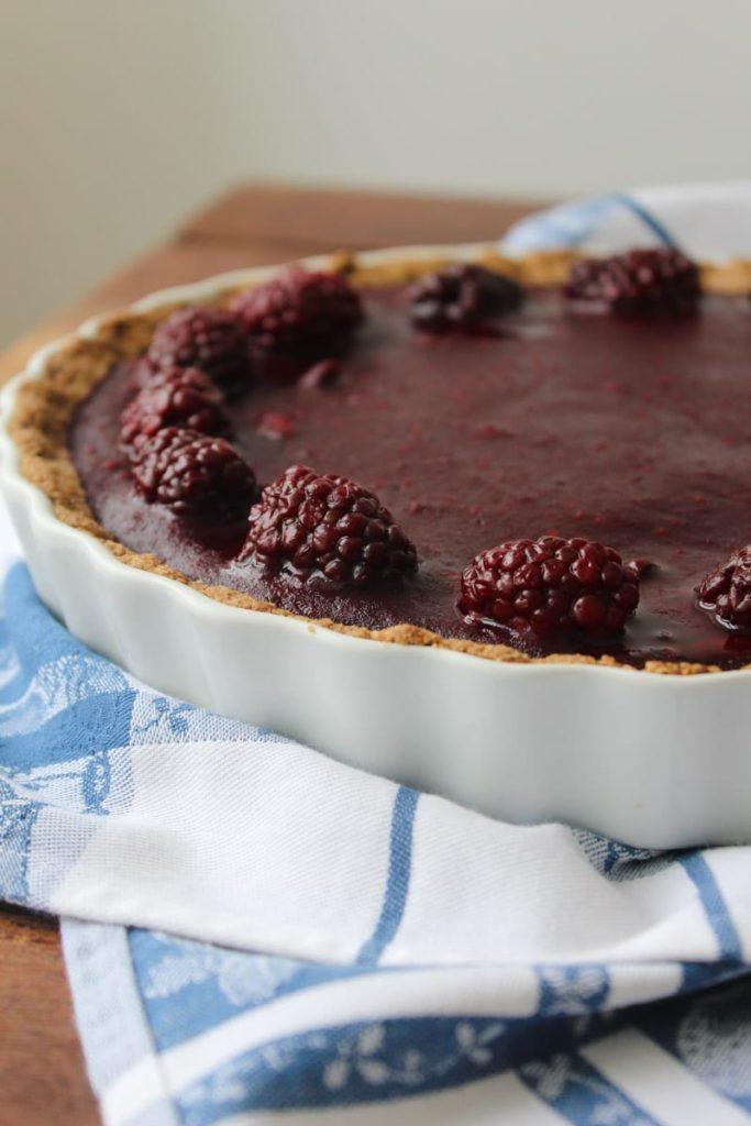Torta de amora (ou morango!)